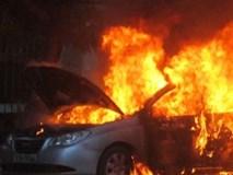 Ô tô 4 chỗ cháy tại sân bay quốc tế Nội Bài, 1 người tử vong