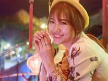 Hari Won khoe nhan sắc 'mỏng manh tựa sương mai' trong tà áo dài truyền thống