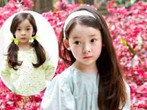 Tan chảy trước vẻ đẹp thuần khiết như sương mai của hot girl nhí xứ Hàn