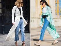 Những chiếc áo choàng đang 'gây bão' street style