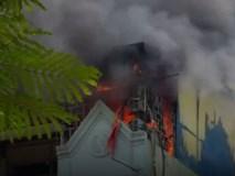 Video: Cháy shop thời trang gần Văn Miếu, nhiều người hoảng loạn