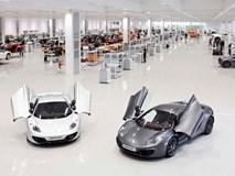 Apple đàm phán mua lại hãng xe McLaren