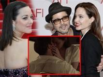 Cảnh hôn say đắm của Brad Pitt và 'kẻ thứ ba' Marion Cotillard