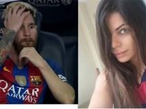 Hoa hậu vòng 3 lại khiến bồ Messi sôi máu vì ghen
