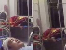 Sốc trước cảnh cặp đôi 'mây mưa' ngay trên giường bệnh ở Hưng Yên