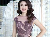 Hoa hậu Mỹ Linh đẹp không tỳ vết, khiến ai cũng phải ngước nhìn