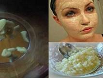 Trẻ hóa khuôn mặt trong 20 phút với mặt nạ tỏi