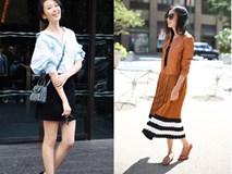 """Street style """"nồng nàn mùa thu"""" của các quý cô Châu Á"""