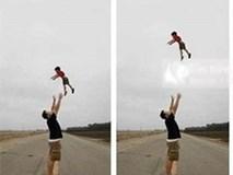 Rùng mình trò chơi tung hứng quen thuộc khiến trẻ chấn thương não, tử vong