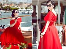 Những chiếc váy đỏ từng gây bão truyền thông của Lý Nhã Kỳ
