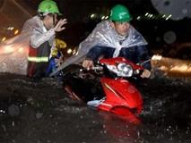 Từ nay đến cuối tuần, Sài Gòn còn nhiều trận mưa lớn