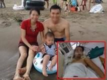 Cô giáo trẻ bị chèn ngang người quyết cứu con trong bụng