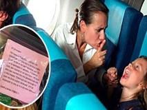 Con quấy khóc trên máy bay và cách bà mẹ xử lý khiến cả máy bay nín lặng