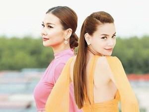 """Hà Hồ - Thanh Hằng cặp """"nhân tình"""" đẹp khó lòng vượt mặt của Vbiz"""