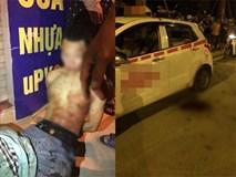 Tài xế taxi bị thanh niên 19 tuổi truy sát, cứa cổ ở Hà Nội?