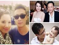 Những sao nam Việt 'chậm mà chắc' khi tái hôn với vợ trẻ