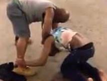 Clip gây sốc: Người đàn ông ăn mặc bóng bẩy đánh bạn gái tới tấp khiến ai cũng kinh hãi