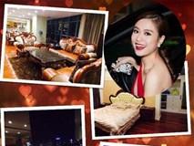 Choáng với 2 dinh thự tại Hà Nội và ở quê của Hoàng Thùy Linh
