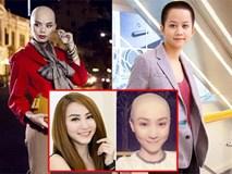 """Không chỉ sao nam, sao nữ Việt cũng bỗng dưng """"trọc đầu"""""""