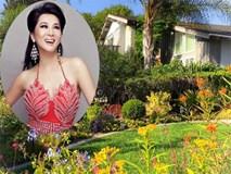 Ngắm ngôi nhà thanh bình và khu vườn đẹp lung linh trên đất Mỹ của MC Kỳ Duyên