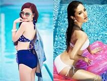 """Sao Việt mặc bikini khoe dáng chuẩn, ai đoạt ngôi """"nóng bỏng nhất""""?"""