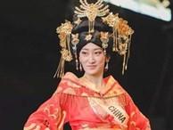 Hoa hậu Trung Quốc bị nhận xét giống đàn ông