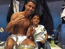 Con trai Ronaldo ghi bàn ngay trận đầu ra quân