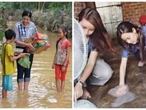 Không phải tiền nhiều hay ít, đây mới là hình ảnh trân quý nhất khi sao Việt đi từ thiện