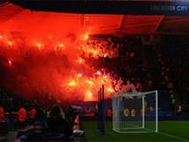 Leicester toàn thắng ở Champions League, đối mặt án phạt vì pháo sáng