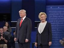 Hillary và Trump 'so găng' lần ba