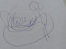 Bí mật ẩn giấu trong bức tranh của bé gái 5 tuổi khiến các phụ huynh sững sờ