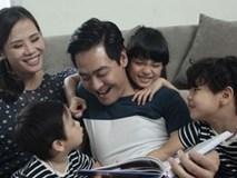 Những khoảnh khắc hạnh phúc viên mãn của gia đình MC Phan Anh