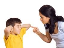 Làm mẹ thông thái - đừng đánh mắng khi con làm sai