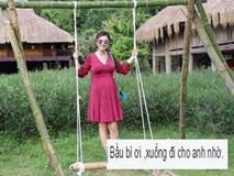 Jennifer Phạm bị fan nhắc nhở vì chơi trò mạo hiểm khi đang mang bầu