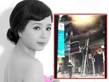 """Nghệ sĩ Chiều Xuân """"rụng rời"""" chân tay khi biết tin nhà bị cháy"""