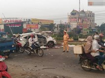 Vụ tàu hỏa đâm ôtô ở Thường Tín: Nạn nhân bị hất văng ra khỏi xe
