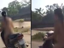 Hà Nội: Hoàn cảnh đáng thương của cô gái trẻ khỏa thân chạy xe máy ngoài đường