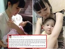 Lặng người khi biết món quà bé Yến Nhi nhận được từ người mẹ trẻ xinh đẹp