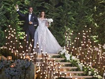 Hôn lễ bạc tỷ xa hoa không kém đám cưới hoàng gia của chú rể kiến trúc sư chịu chơi