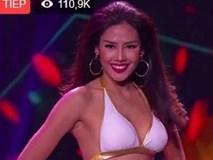 Clip: Nguyễn Thị Loan tự tin phô diễn đường cong tại Miss Grand International
