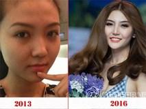 Hình ảnh 3 năm trước dấy nghi án Nữ hoàng sắc đẹp Ngọc Duyên có 'dao kéo'