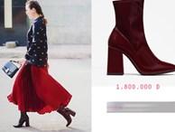 Bóc giá những đôi bốt giá mềm vừa đẹp lại sành điệu của sao Việt