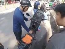 Lật tẩy thủ đoạn giả vờ hết xăng để xin tiền người đi đường