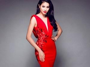 """Loạt váy khoe đường cong """"đẹp muốn xỉu"""" của Phạm Hương"""