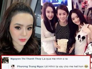 """Mẹ ruột cũng """"hết hồn"""", không nhận ra đây là em gái Angela Phương Trinh"""