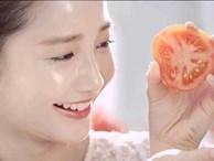 Chà cà chua lên mặt 3 giây mỗi ngày và kết quả khiến nhiều cô gái bất ngờ