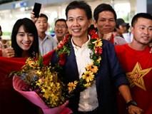 U19 Việt Nam về nước sau khi đoạt vé tham dự U20 thế giới