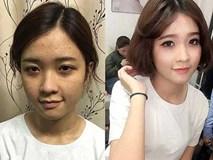 Sức mạnh của make up khẳng định:Trên đời không bao giờ có gái xấu!