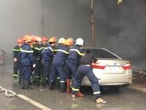 Người gọi xe cứu hỏa kể lại phút chứng kiến nổ ô tô và đoàn người tháo chạy trong vụ cháy quán Karaoke