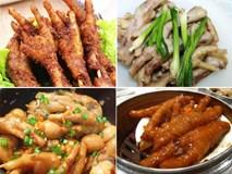 Chân gà đủ món không chỉ ở Việt Nam mà trên thế giới cũng rất được ưa chuộng